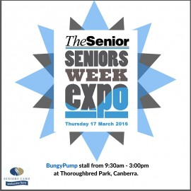 Seniors Week Expo – Canberra
